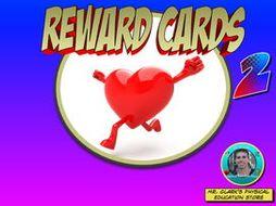 Physical Education Reward Cards 2