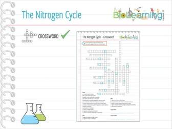 Nitrogen Cycle - Crossword (KS4)