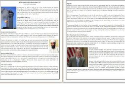 What Happened on September 11?  - Reading Comprehension Worksheet / Text