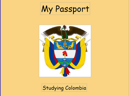 Colombia - Sample presentation for students to follow