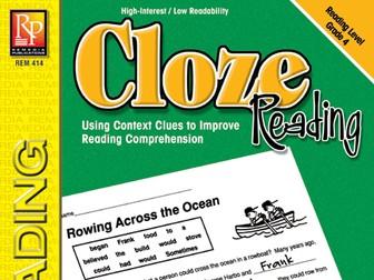 Cloze Reading (Grade 4)