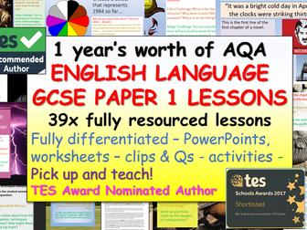 English Language - AQA Paper 1