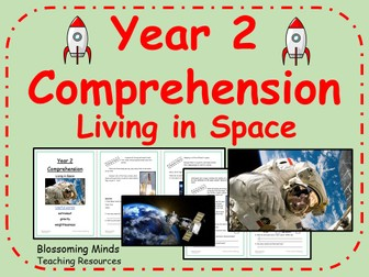Year 2 Living in Space Comprehension - Science