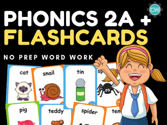 Phonics 2A - FLASHCARDS
