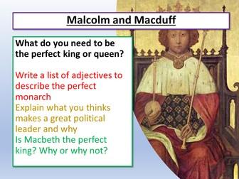 Macbeth Malcolm and Macduff