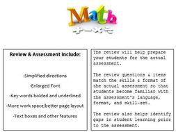 Grade 2, Math Module 6 REVIEW & ASSESSMENT w/Ans keys (printables & Smart Board)