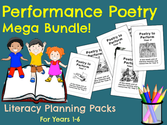 Performance Poetry -  Mega Bundle