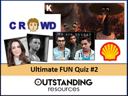 Ultimate FUN QUIZ 2020 #2 (End of Year Quiz, End of Term QUIZ) - Logos, Dingbats, Music, Movies