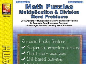 Math Puzzles: Multiplication & Division Word Problems