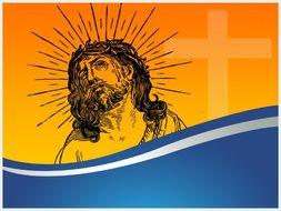 JESUS CHRIST POWERPOINT TEMPLATE