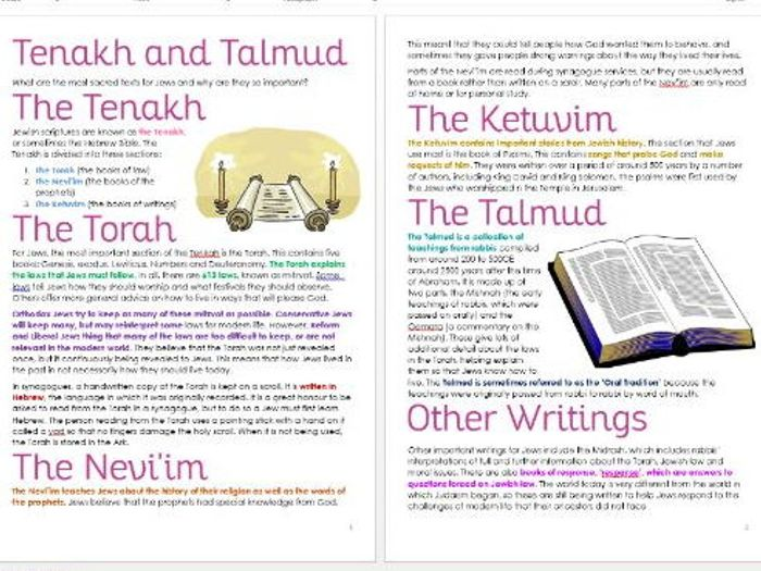Judaism: History and Beliefs Unit (Tasks/Information) by joanacarr ...