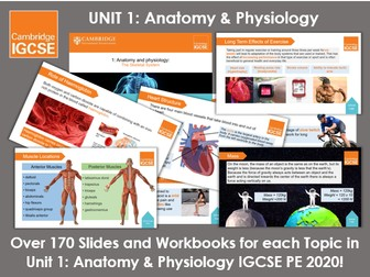 Complete Unit 1: Anatomy and Physiology - IGCSE Physical Education
