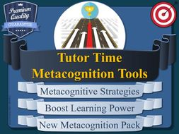 Tutor-Time Metacognition Pack (Form)