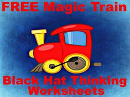 Free The Magic Train Black Hat Thinking Activities Problem Solving Has Never Been So Fun By Peterfogarty Teaching Resources Tes