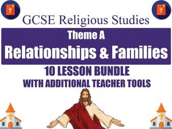 Relationships & Families (10 Lesson Unit) (AQA GCSE Religious Studies)