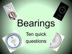 Bearings Worksheet Pdf