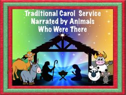 Christmas Carol Service - Animated PowerPoint