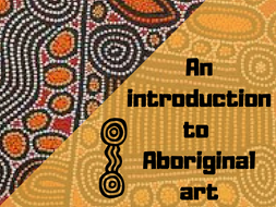 Aboriginal art presentation