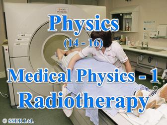 P3.1 Medical Physics 1 - Radiotherapy
