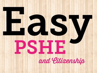 Easy PSHCE Grooming assembly, lesson, Secondary