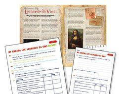 Leonardo da Vinci guided reading
