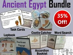 Ancient Egypt Task Cards and Activities Bundle