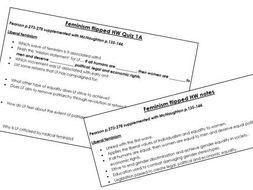 Edexcel A-Level Politics: Feminism Core Notes and Quizzes
