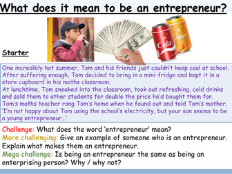 Careers : Entrepreneurs