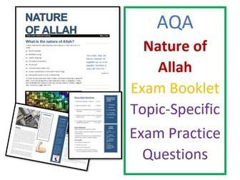 AQA Islam Beliefs: Nature of Allah Exam Booklet