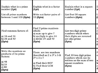 50 Points Grid - Number theory