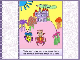 Growth Mindset Poster from The World of Whyse's Book 2 'Prince Igor Figures It Out.'