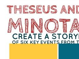 Theseus The Minotaur Storyboard Activity