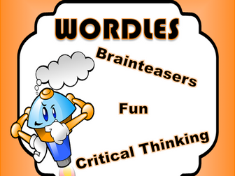Wordles - Brain Teasers - Creative Writing - Critical Thinking - Daily Puzzle