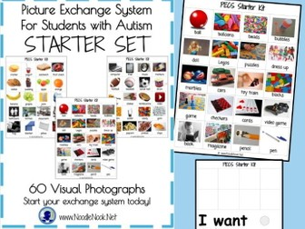 PECS Starter Kit for Students with Autism- Printable and Ready to Go!