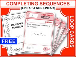 Completing Sequences (Loop Cards)