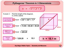 Pythagoras and Trigonometry in 3D