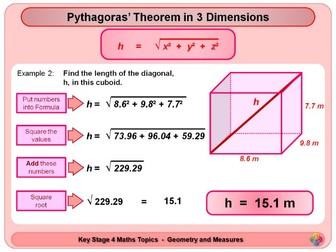 Pythagoras and Trigonometry in 3D