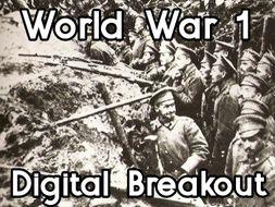 World War 1 - digital breakout game