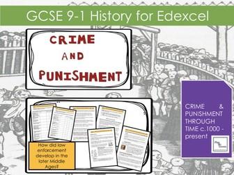 Edexcel GCSE 9-1 Crime & Punishment: L6 How did law enforcement develop in the later middle ages?