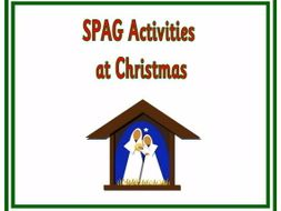 KS1/2, SPAG activities at Christmas.