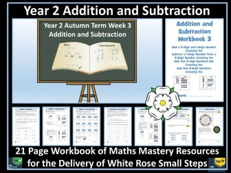 Addition and Subtraction: Year 2 - Autumn Term - Workbook - White Rose Maths