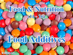 3.3 Food Additives