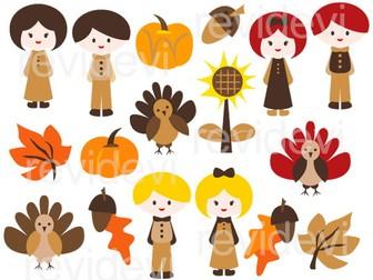 Thanksgiving Clip Art: Ready For Thanksgiving