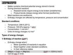 Energy Changes | Pre-U Certificate in Chemistry 9791