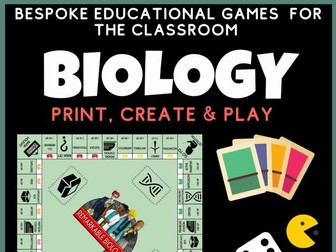 Biology Revision Board game