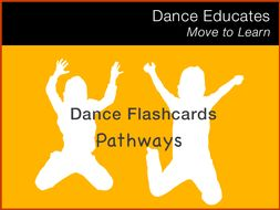 Dance Flashcards: Pathways in Dance