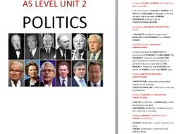 UNIT 2 POLITICS COMPLETE REVISION GUIDE