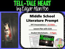 Tell Tale Heart by Edgar Allan Poe - Text Dependent Analysis ...