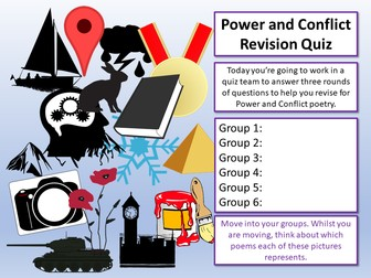 Power and Conflict Revision Quiz
