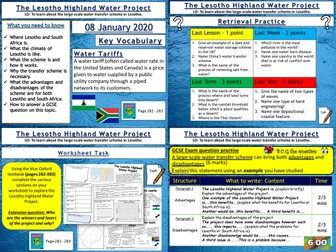Water Management: The Lesotho Highland Water Project